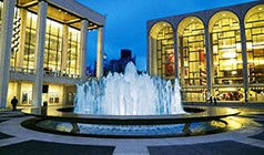Lincoln Center's Avery Fisher Hall