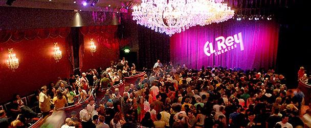 El Rey Theatre - Los Angeles music venue