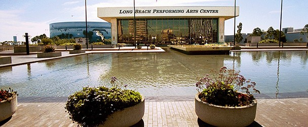 Terrace theater long beach convention center tickets and for Terraces cinema schedule