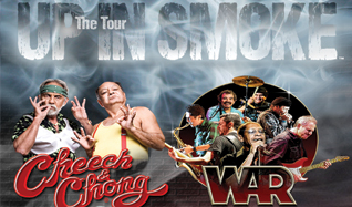 Cheech & Chong / WAR tickets at 1STBANK Center in Broomfield