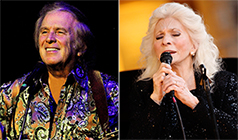 Don McLean / Judy Collins tickets at The Mountain Winery in Saratoga