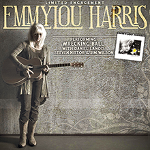 Emmylou Harris tickets at The Warfield in San Francisco