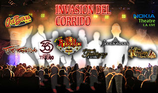 Invasión Del Corrido tickets at Nokia Theatre L.A. LIVE in Los Angeles