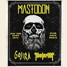Mastodon tickets at Club Nokia in Los Angeles