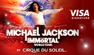 Michael Jackson THE IMMORTAL World Tour by Cirque du Soleil tickets at The Arena at Gwinnett Center in Duluth