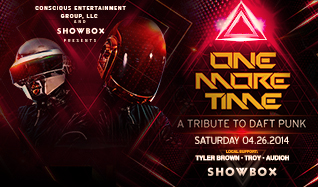 One More Time - A Tribute to Daft Punk tickets at The Showbox in Seattle
