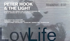Peter Hook & The Light tickets at Trocadero Theatre in Philadelphia