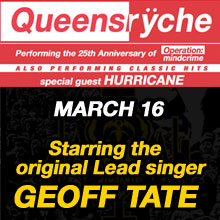 Queensrÿche  tickets at Starland Ballroom in Sayreville