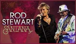 Rod Stewart | Santana tickets at Fiddler's Green Amphitheatre in Greenwood Village