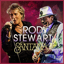 Rod Stewart | Santana tickets at Sprint Center in Kansas City
