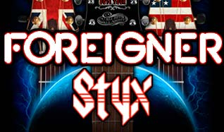 Styx, Foreigner and Don Felder tickets at Freedom Hill Amphitheatre in Sterling Heights