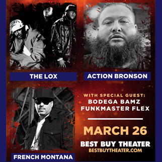 The Lox,  French Montana & Action Bronson