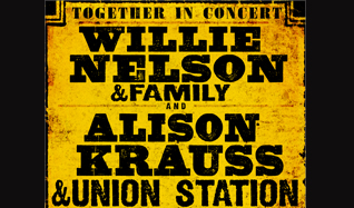 Willie Nelson and Family + Alison Krauss and Union Station tickets at St. Augustine Amphitheatre in St. Augustine