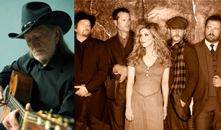Willie Nelson & Family and Alison Krauss & Union Station featuring Jerry Douglas tickets at The Mann Center in Philadelphia