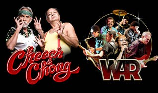 Cheech & Chong and WAR tickets at The Joint at Hard Rock Hotel & Casino Las Vegas in Las Vegas