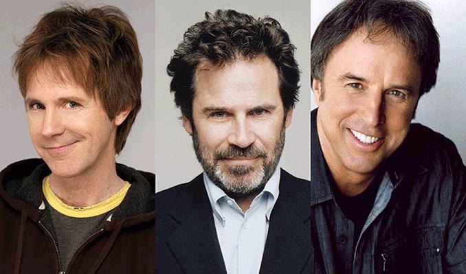 Dana Carvey, Dennis Miller,  Kevin Nealon from SNL