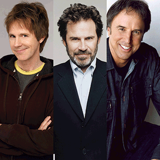 Dana Carvey, Dennis Miller,  Kevin Nealon from SNL