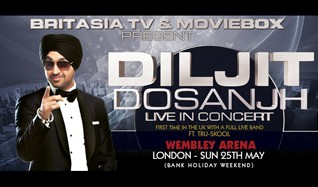 Diljit Dosanjh - Live in Concert 2014 tickets at Wembley Arena in London