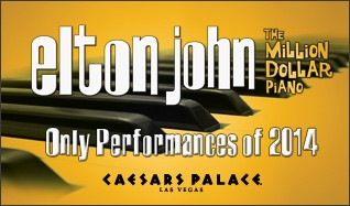Elton John tickets at The Colosseum at Caesars Palace in Las Vegas