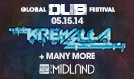 Global Dub Festival featuring Krewella tickets at Arvest Bank Theatre at The Midland in Kansas City