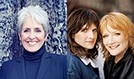 Joan Baez & Indigo Girls tickets at The Mountain Winery in Saratoga