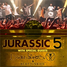 Jurassic 5 tickets at Best Buy Theater in New York