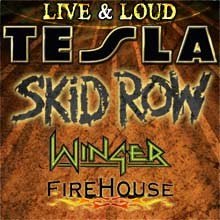 Live & Loud with TESLA tickets at Freedom Hill Amphitheatre in Sterling Heights