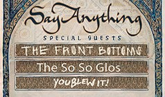 Say Anything tickets at The Regency Ballroom in San Francisco