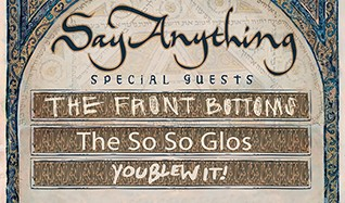 Say Anything tickets at Fonda Theatre in Los Angeles
