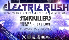 Electric Rush feat. Starkillers & Boombox Cartel tickets at Best Buy Theater in New York