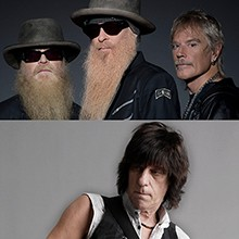 ZZ Top & Jeff Beck   tickets at The Mountain Winery in Saratoga