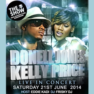 Donell Jones and Kelly Price