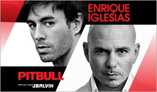 Enrique Iglesias & Pitbull tickets at Prudential Center in Newark