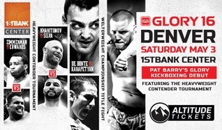 Glory 16 Denver tickets at 1STBANK Center in Broomfield