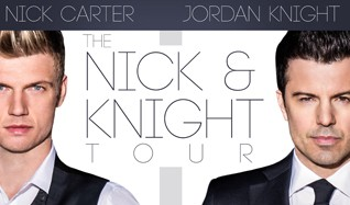 Jordan Knight and Nick Carter tickets at Best Buy Theater in New York