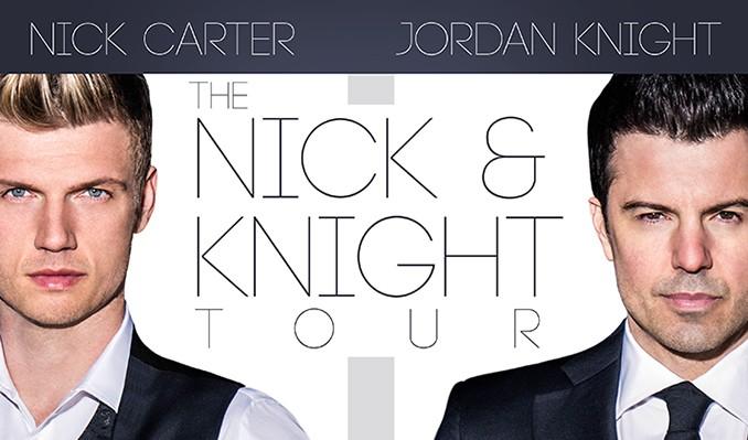 Jordan Knight & Nick Carter