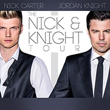 Jordan Knight & Nick Carter tickets at The Regency Ballroom in San Francisco