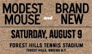 Modest Mouse and Brand New tickets at Forest Hills Stadium in Queens