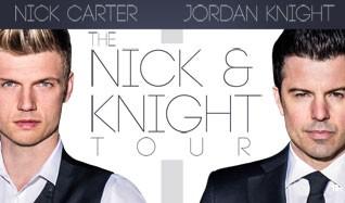 Nick Carter & Jordan Knight tickets at Royal Oak Music Theatre in Royal Oak