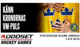 Oddset Hockey Games 2014 tickets at Ericsson Globe in Stockholm