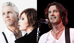 Pat Benatar & Neil Giraldo / Rick Springfield tickets at The Mountain Winery in Saratoga