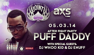 Puff Daddy tickets at The Joint at Hard Rock Hotel & Casino Las Vegas in Las Vegas