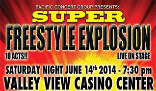 Freestyle concert valley view casino