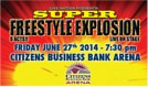 Super Freestyle Explosion tickets at Citizens Business Bank Arena in Ontario