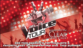 The Voice Tour tickets at King County's Marymoor Park in Redmond