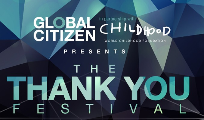 Global Citizen Thank You Festival