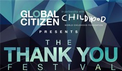 Global Citizen Thank You Festival  tickets at Merriweather Post Pavilion in Columbia