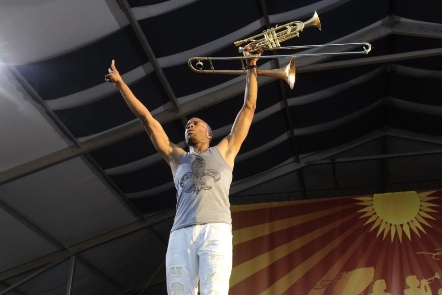 Trombone Shorty & Orleans Avenue Close Out Jazz Fest 2014