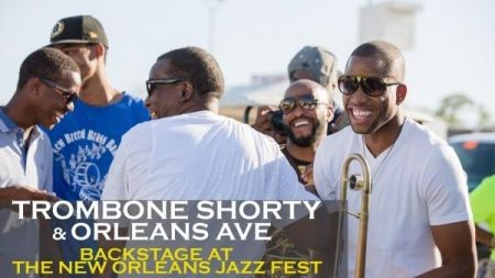 Exclusive recap with Trombone Shorty at New Orleans Jazz Fest 2014