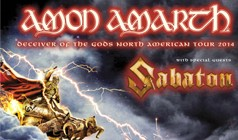 Amon Amarth tickets at Best Buy Theater in New York